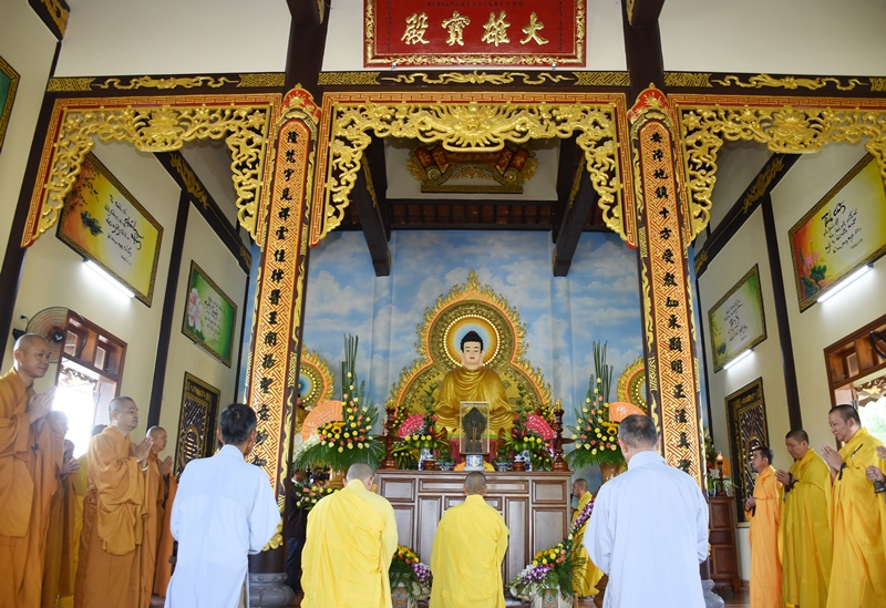 Núi Thành: Chùa An Long tổ chức lễ hoàn nguyện
