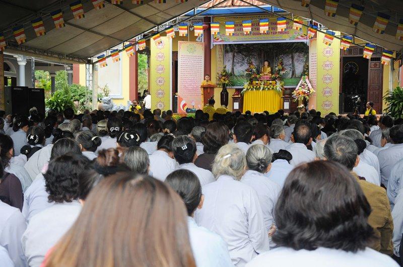 Đại Lộc: BTS PG huyện trang nghiêm tổ chức lễ Phật thành đạo, tổng kết Phật sự năm 2018