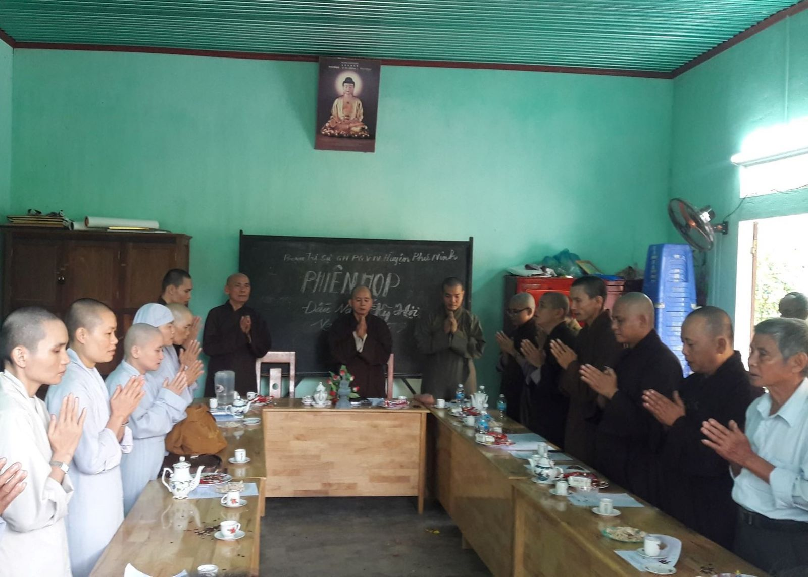 Phú Ninh: Họp triển khai Đại lễ Phật đản Vesak PL.2563