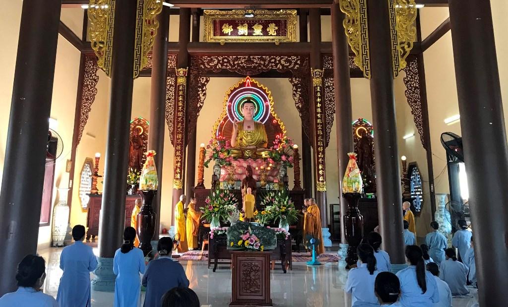 Tam Kỳ: Lễ hiệp kỵ GĐPT thành phố tại chùa Đạo Nguyên