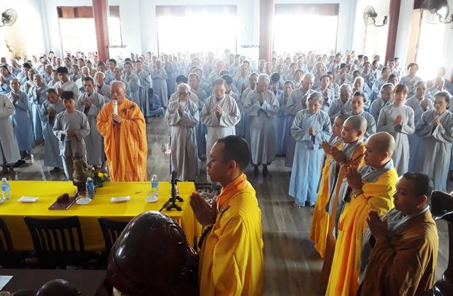 Đại Lộc: BTS PG huyện tổ chức khóa tu tại chùa Bửu Hiệp