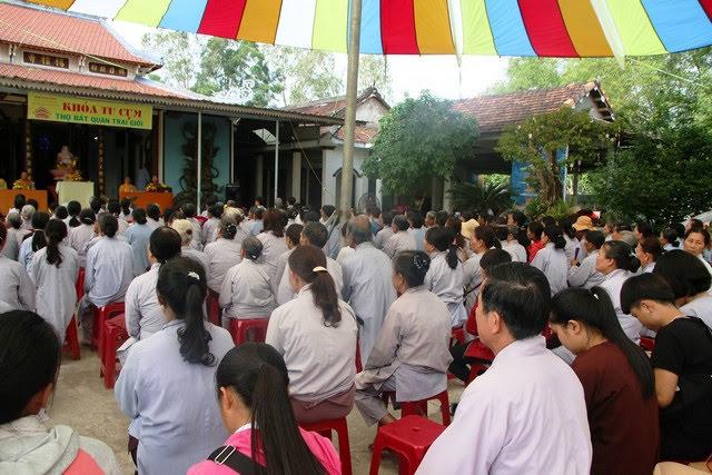 Phú Ninh: Ban HDPT tổ chức khóa tu theo cụm đầu năm Mậu Tuất