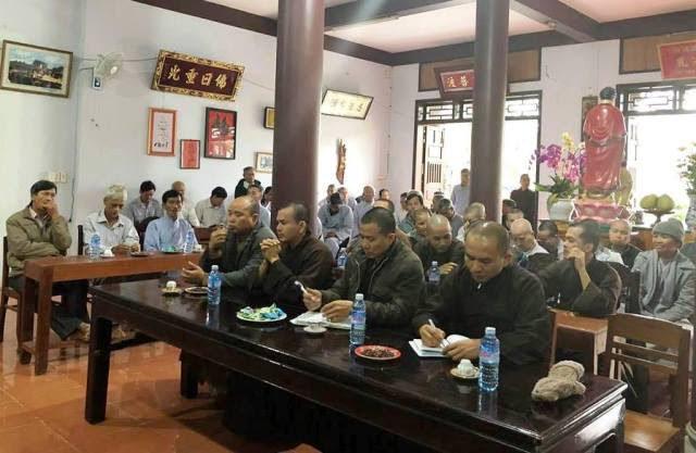 Duy Xuyên: Phật giáo huyện họp đầu năm triển khai Phật sự