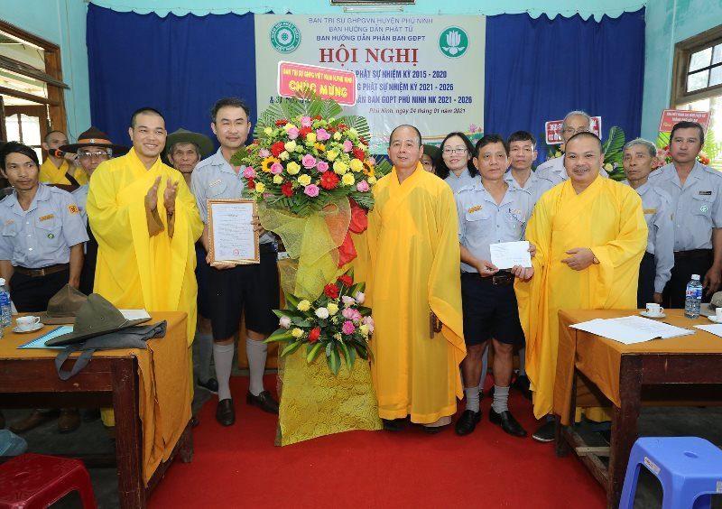 Phú Ninh: Ra mắt nhân sự Ban Hướng dẫn Phân ban GĐPT huyện Phú Ninh nhiệm kỳ 2021 – 2026