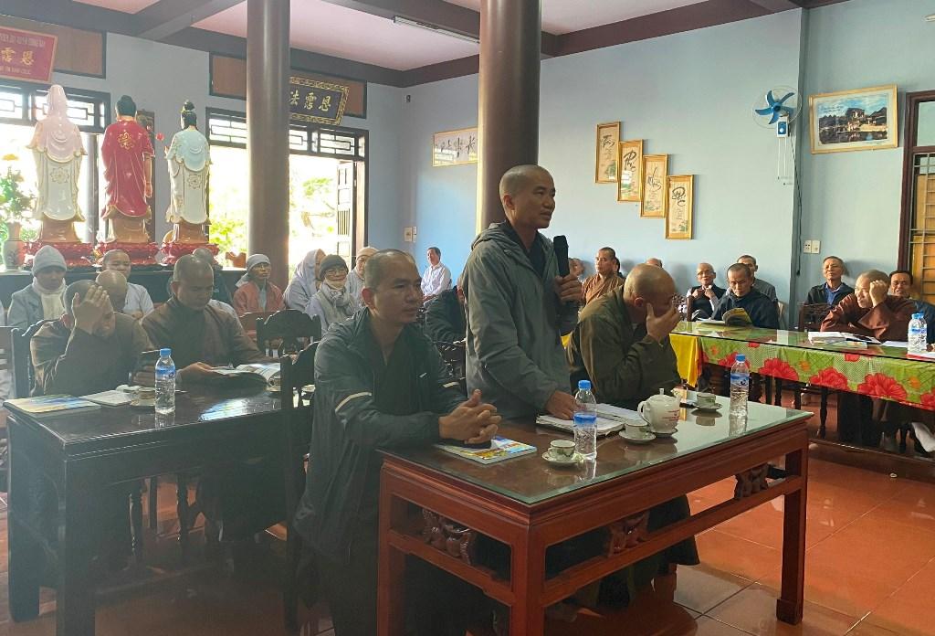 Duy Xuyên: BTS Phật giáo huyện triển khai công tác Phật sự cuối năm