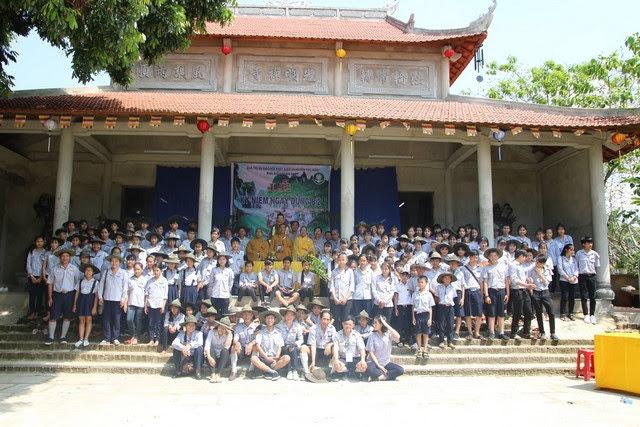 Phú Ninh: GĐPT tổ chức trại Dũng (8/2)