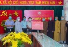 Điện Bàn: PG thị xã ủng hộ 100 triệu đồng vào quỹ mua vắc-xin phòng chống dịch Covid-19