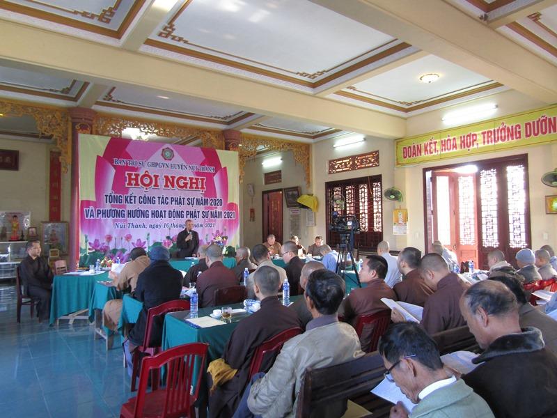 Núi Thành: BTS PG huyện hội nghị tổng kết công tác năm 2020 và phương hướng năm 2021