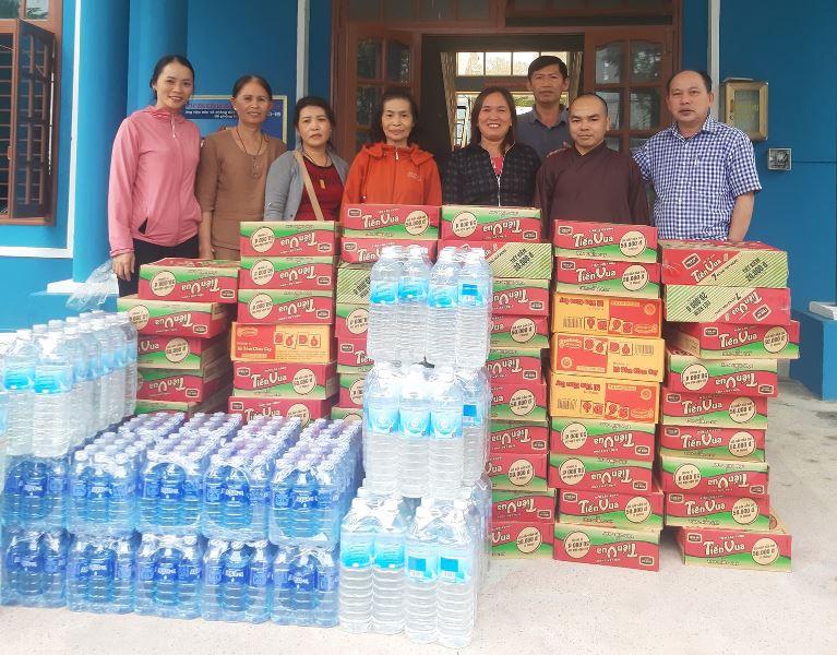 Bắc Trà My: Phật giáo huyện miền núi chung tay cứu trợ lũ lụt