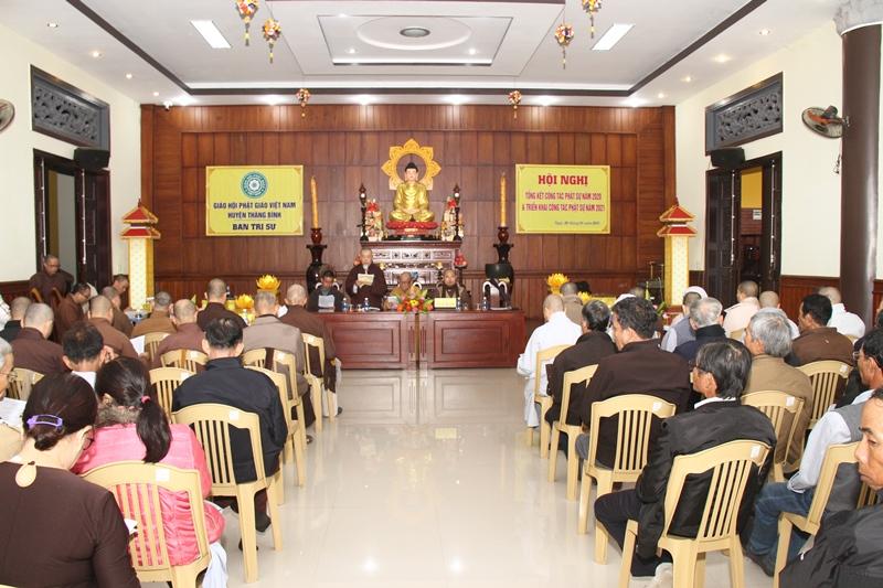 Thăng Bình: Ban Trị sự PG huyện tổng kết công tác Phật sự năm 2020, tổ chức lễ Phật thành đạo