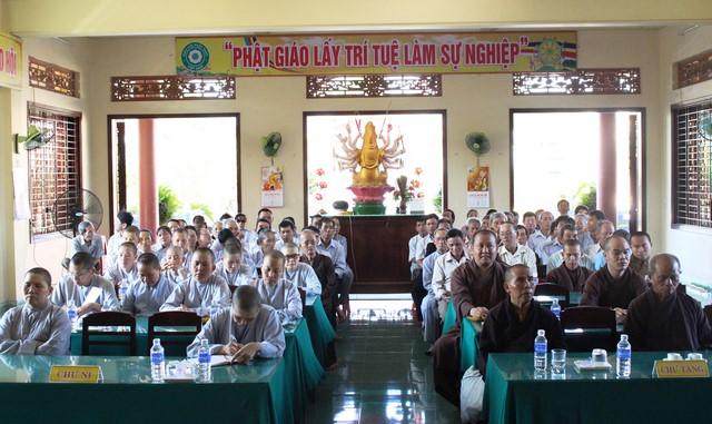Núi Thành: Phật giáo huyện triển khai Phật đản PL.2561