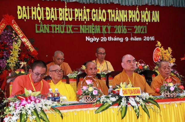 Hội An: Khai mạc Đại hội Đại biểu Phật giáo thành phố Hội An nhiệm kỳ IX (2016-2021)