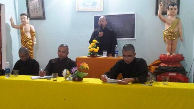 Phú Ninh: Ban HDPT huyện tổng kết Phật sự năm 2017