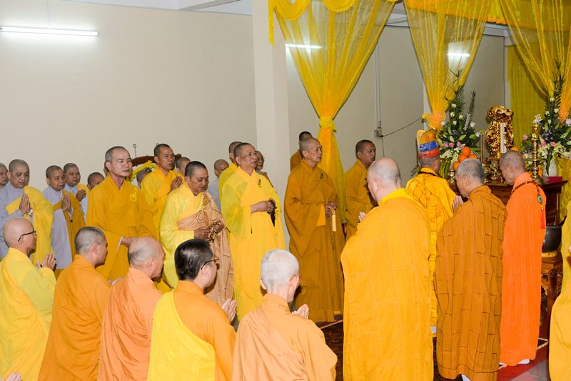 Quảng Nam: Lễ nhập kim quan Thượng tọa Thích Giải Quảng
