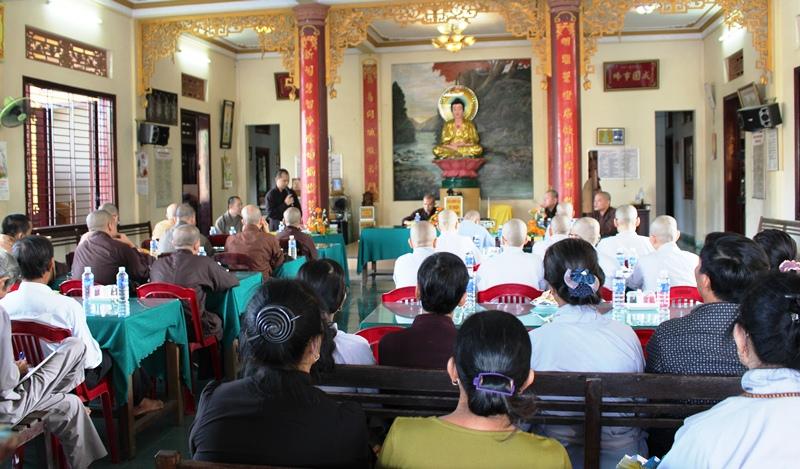 Núi Thành: Phật giáo huyện tổng kết Phật đản PL. 2563 và triển khai Phật sự