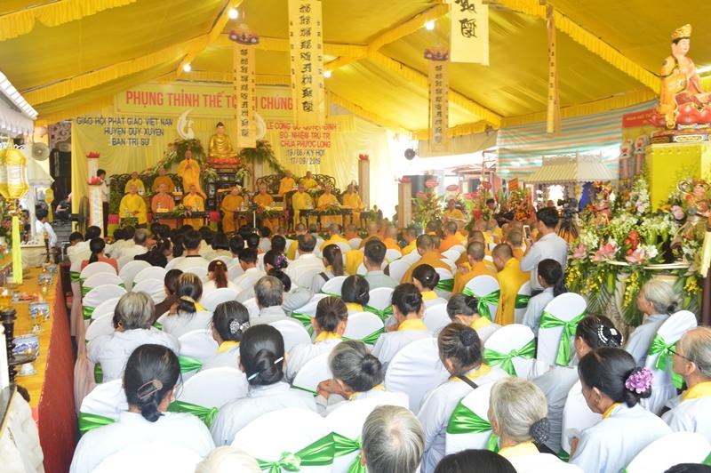 Duy Xuyên: Công bố Quyết định bổ nhiệm trụ trì chùa Phước Long