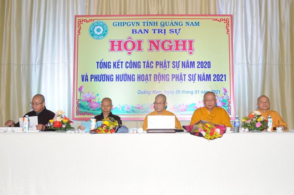 Phật giáo Việt Nam tỉnh tổng kết Phật sự năm 2020