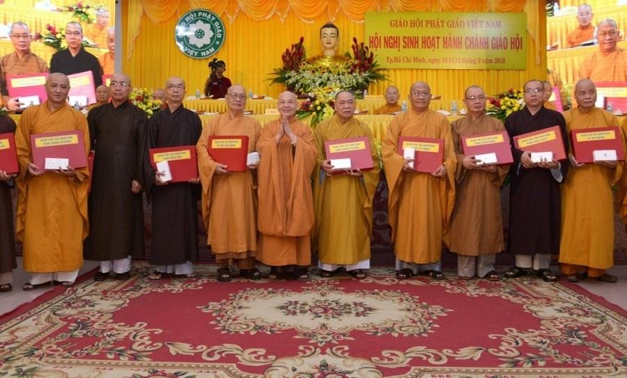 TWGH: Bế mạc, trao chứng nhận khóa sinh hoạt hành chánh Giáo hội