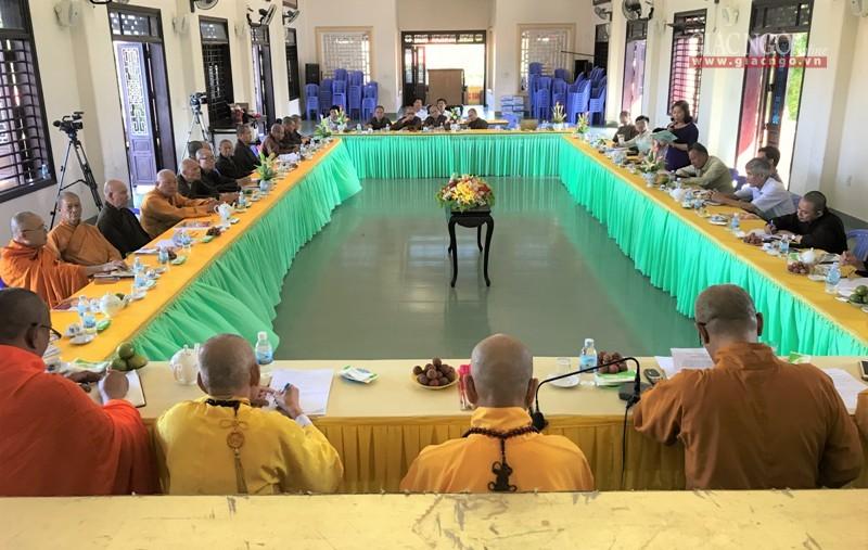 Hội nghị giao ban với Phật giáo các tỉnh miền Trung