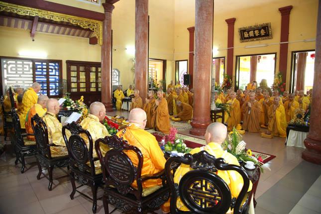 Đà Nẵng:Đại giới đàn Tôn Thắng tấn đàn Tỳ Kheo