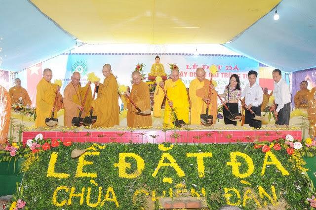 Phú Ninh: Khởi công trùng tu chùa Chiên Đàn