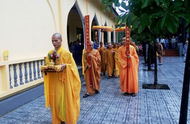 Tam Kỳ: Chùa Kỳ Viên tổ chức lễ húy nhật lần thứ 15 cố Hòa thượng khai sơn
