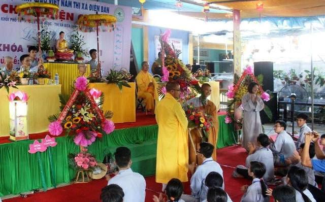 Điện Bàn: chùa Thiện Giác tổ chức khóa tu mùa hè cho Thanh Thiếu Nhi