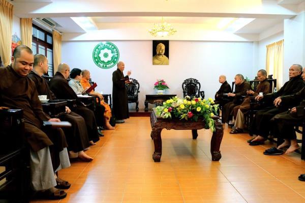 TP. Hồ Chí Minh: Họp rà soát tổ chức Hội nghị chuyên đề Phật giáo Nam tông Khmer