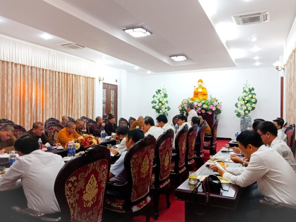 Hà Nội: Trung ương Giáo hội họp chuẩn bị Đại lễ tưởng niệm 710 năm Phật hoàng Trần Nhân Tông nhập Niết bàn