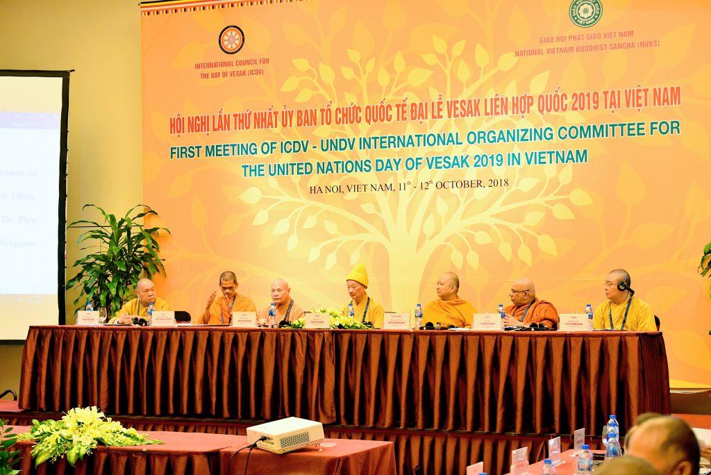 Hà Nội: Khai mạc Hội nghị lần thứ nhất Ủy ban tổ chức Quốc tế Đại lễ Vesak LHQ 2019