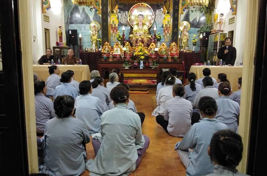 PG Tỉnh: Thường trực BTS làm việc với chùa Phổ Quang, Núi Thành