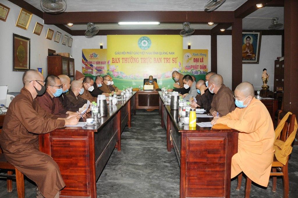 Thành lập Ban Tổ chức Đại hội Đại biểu GHPGVN tỉnh Quảng Nam nhiệm kỳ (2022 – 2027)