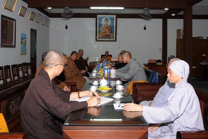 Ban Thường trực Ban Trị sự Phật giáo tỉnh họp thường kỳ tháng 5