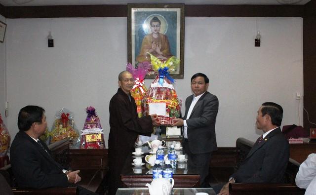 PGT: Các cơ quan chính quyền chúc Tết BTS Phật giáo Quảng Nam