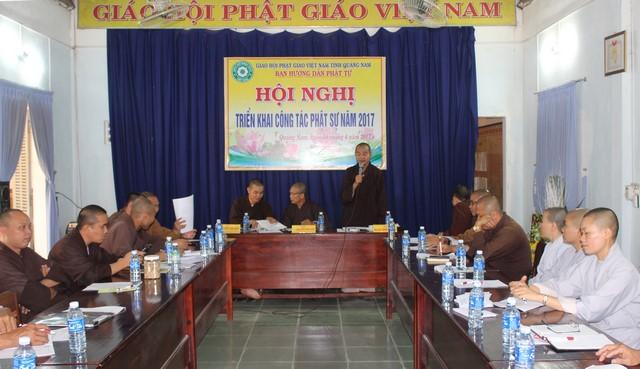 HDPT: Hội nghị Triển khai công tác Phật sự năm 2017