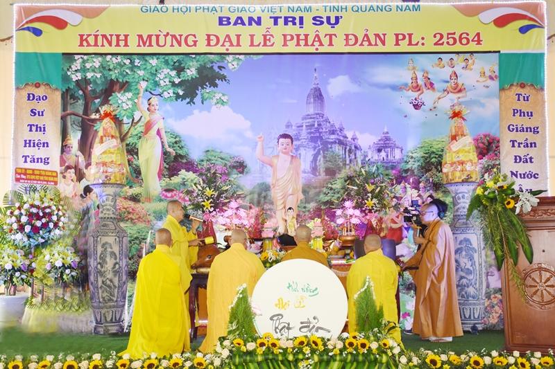 Giáo hội Phật giáo tỉnh trang nghiêm tổ chức Đại lễ Phật đản PL.2564