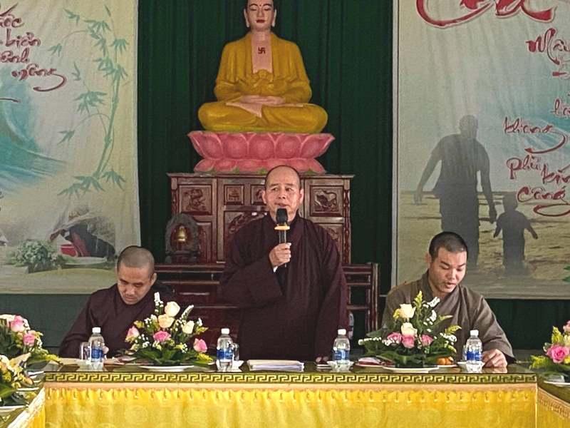 Tiên Phước: Chuẩn bị tổ chức hội nghị Đại biểu Phật giáo huyện Tiên Phước nhiệm kỳ (2021-2026)