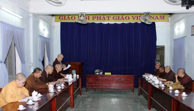 PGT: Ban thường trực họp triển khai Phật sự