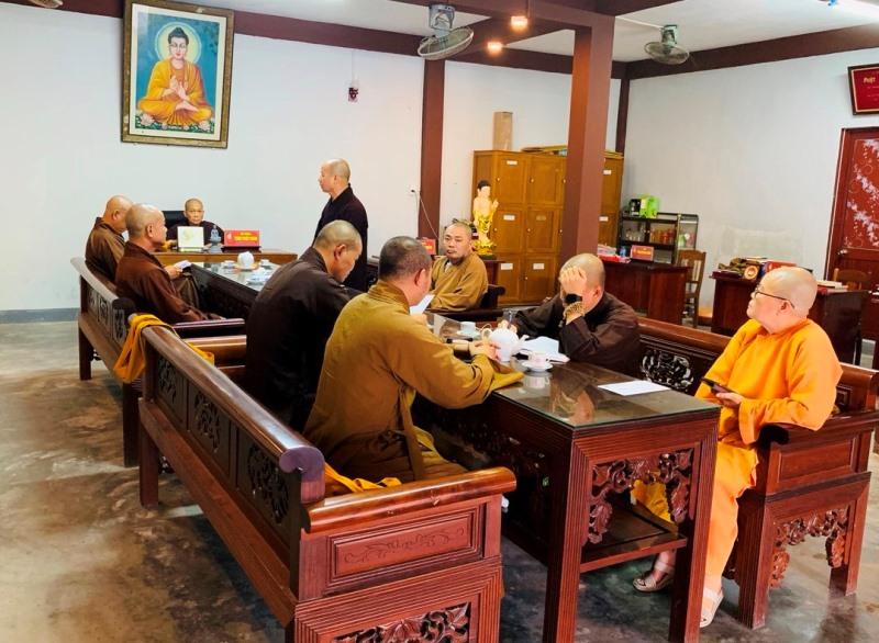 PGT: Ban Thường trực BTS Phật giáo tỉnh họp triển khai Phật sự