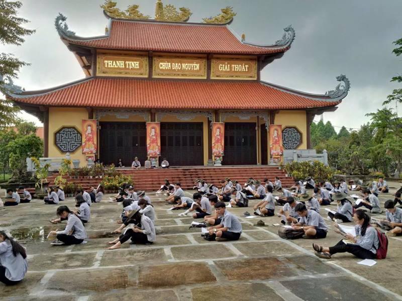 Ban HD PB GĐPT Quảng Nam tổ chức cuộc thi kết khóa bậc Kiên; khảo sát bậc Trì, bậc Định và bảo vệ tiểu luận trại Huyền Trang