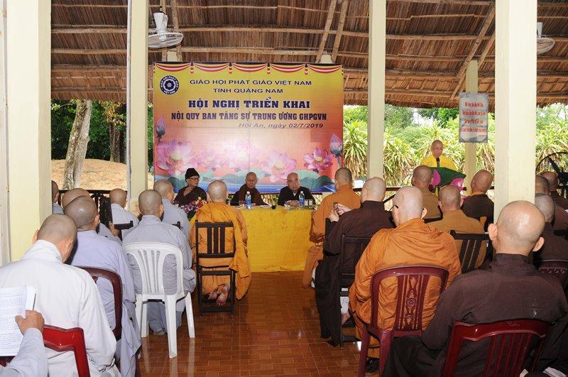 PGT: Hội Nghị phổ biến Nội quy Ban Tăng sự TƯGH tại đạo tràng an cư tổ đình Phước Lâm