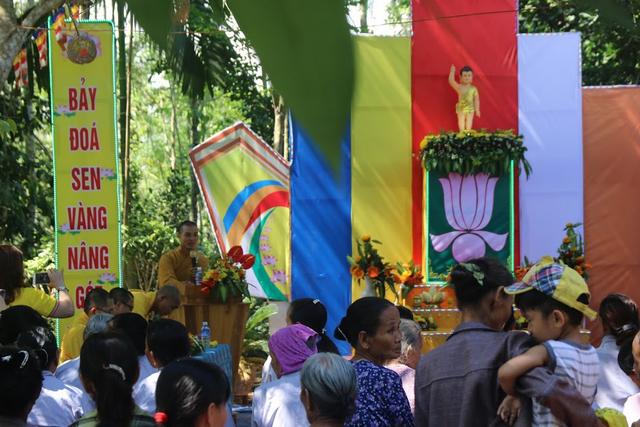 BTS PG Quảng Nam tổ chức Đại lễ Phật đản tại xã Tiên Lãnh và Tiên Hà, H.Tiên Phước