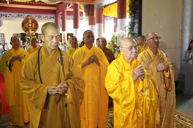 PGT: Ban Trị Sự GHPGVN tỉnh viếng tang Cố HT Thích Thiện Nguyện -Trưởng BTS GHPGVN thành phố Đà Nẵng