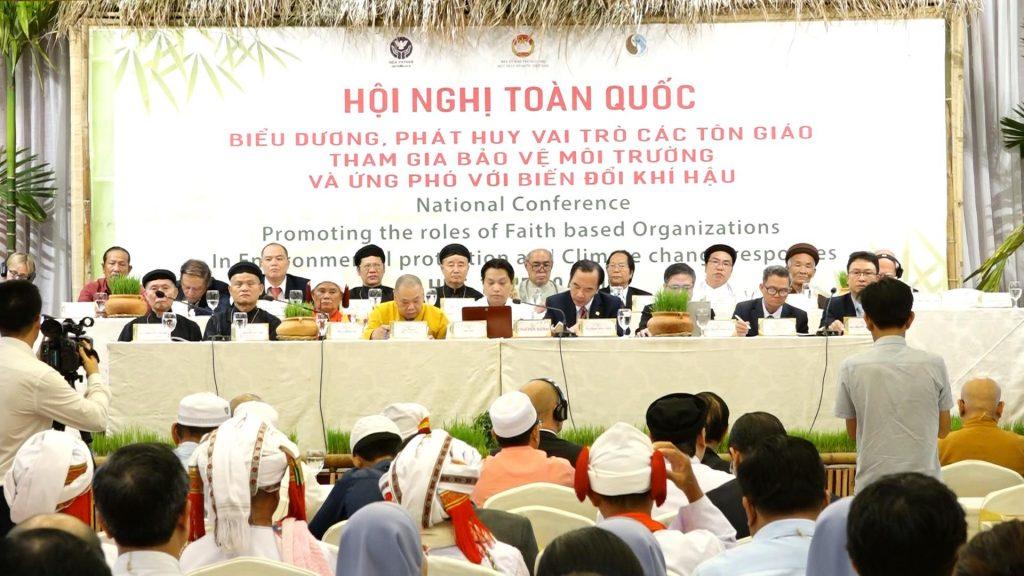 TT-Huế: Bế mạc Hội nghị toàn quốc biểu dương, phát huy vai trò các tôn giáo tham gia bảo vệ môi trường và ứng phó với biến đổi khí hậu năm 2019