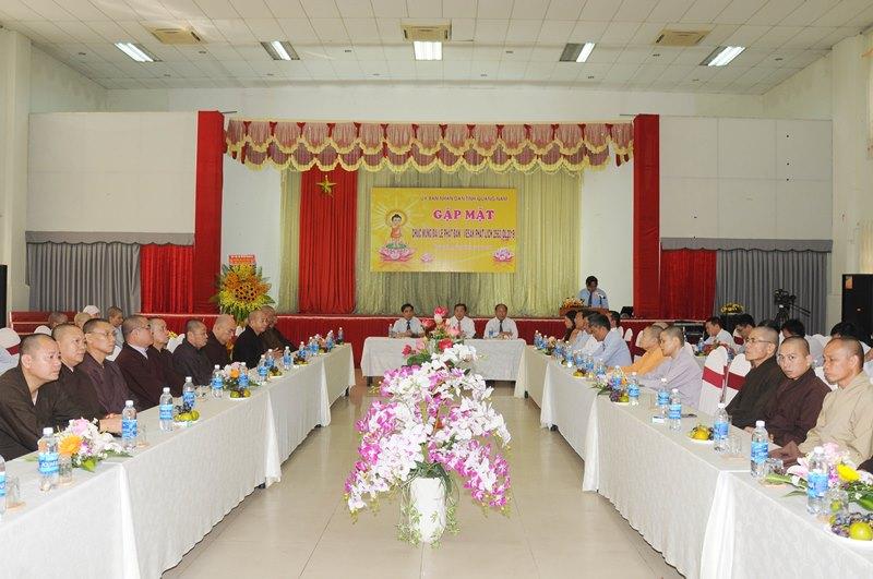 UBND tỉnh Quảng Nam gặp mặt chúc mừng Đại lễ Phật đản Vesak PL.2563 – DL.2019