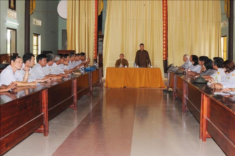 HDPT: GĐPT Quảng Nam họp triển khai tổ chức hội trại Lâm Tỳ Ni GĐPT toàn tỉnh